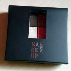 Produktbild zu Make up Factory Mat Eye Colors – Farbe: Red Rebel 020 (LE)
