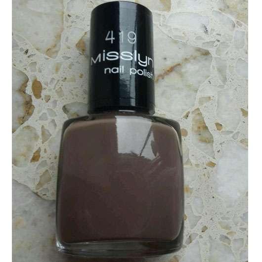 Misslyn nail polish, Farbe: 419 high society