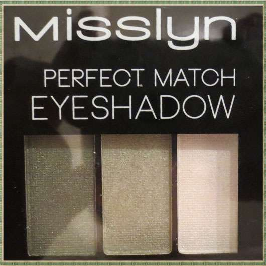 Misslyn Perfect Match Eyeshadow, Farbe: 97 Trend-Setter