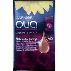 Produktbild zu Garnier Olia Dauerhafte Haarfarbe – Farbe: 5.60 Rubinrot
