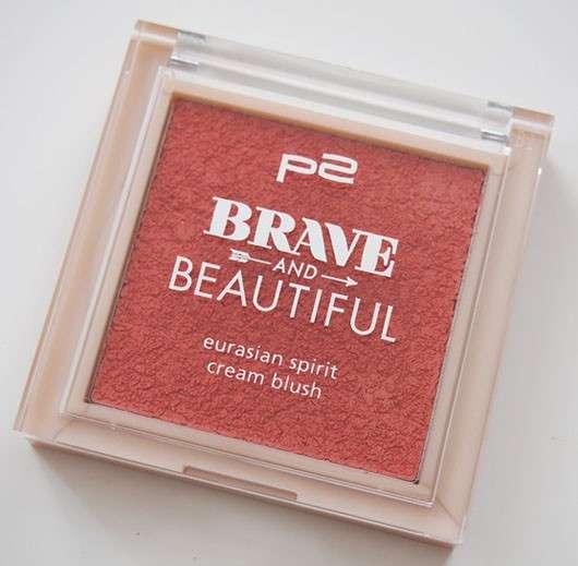 p2 Brave and Beautiful eurasian spirit cream blush, Farbe: 020 furious peach (LE)
