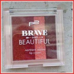 Produktbild zu p2 cosmetics Brave and Beautiful northern senses lip cream – Farbe: 02 cold storm (LE)