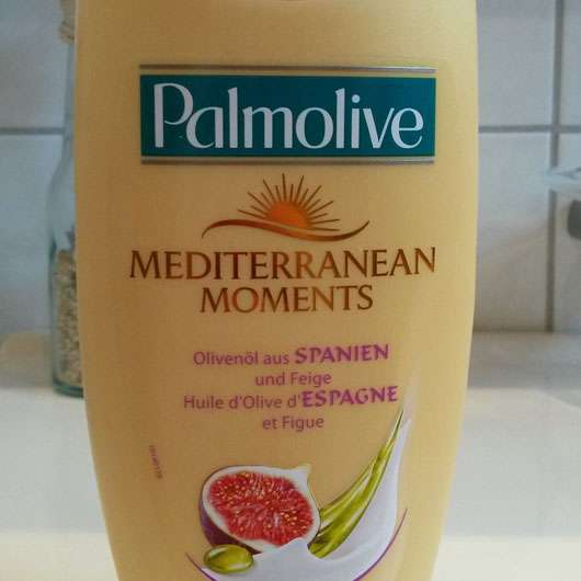 <strong>Palmolive</strong> Mediterranean Moments Olivenöl aus Spanien und Feige Cremedusche