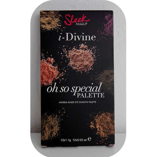 Sleek MakeUP Oh So Special I Divine Lidschatten Palette