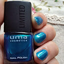 "uma cosmetics ""Why not, wild hot!"" Nail Polish, Farbe: 01 exotic green (LE)"