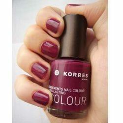 Produktbild zu KORRES Myrrh & Oligoelements Nail Colour – Farbe: 27 Purple