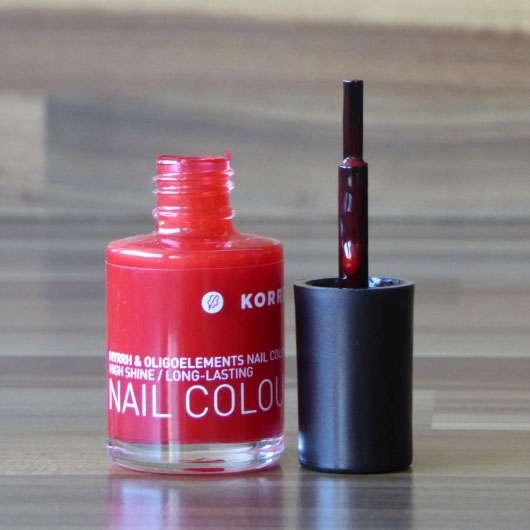 KORRES Myrrh & Oligoelements Nail Colour, Farbe: 48 Coral Red