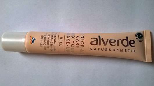 alverde Color & Care Mix Your Make-up, Farbe: Hell