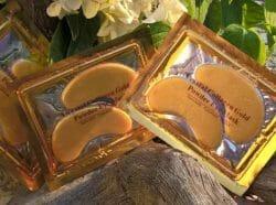 Produktbild zu baviphat Crystal Collagen Gold Powder Eye Mask