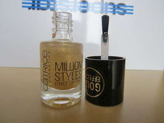 Catrice Million Styles Effect Top Coat, Farbe: 07 Unfold The Unlimited Gold