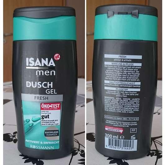 <strong>ISANA MEN</strong> Duschgel Fresh