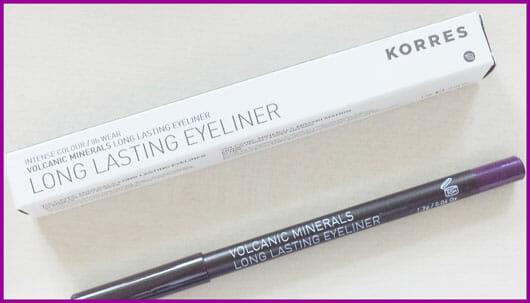 KORRES Volcanic Minerals Long Lasting Eyeliner, Farbe: 04 purple