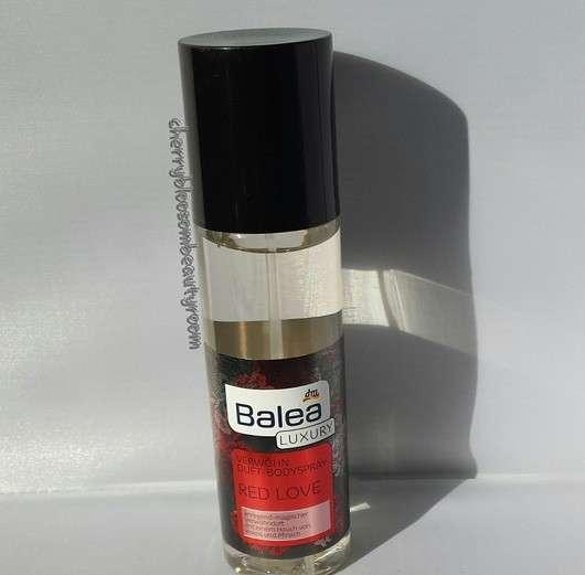 Balea Luxury Verwöhn Duft-Bodyspray Red Love