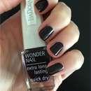 IsaDora Wonder Nail Nagellack, Farbe: 519 Dark Romance (LE)
