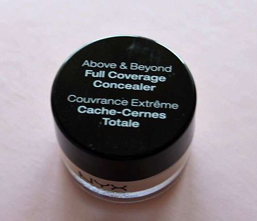 NYX Above & Beyond Full Coverage Concealer, Farbe: CJ01 Porcelain