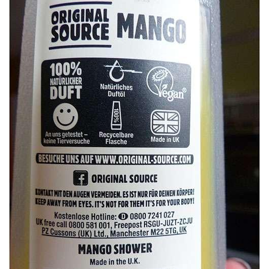 Original Source Mango Duschgel