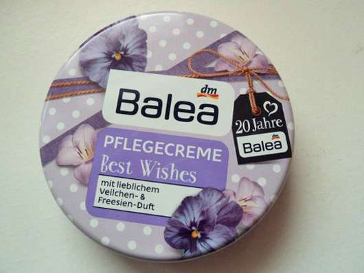 Balea Pflegecreme Best Wishes Veilchen & Freesien (LE)