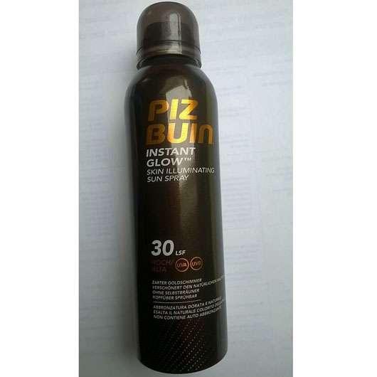 <strong>PIZ BUIN</strong> INSTANT GLOW Sonnenschutzspray LSF 30