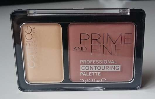 Catrice Prime And Fine Professional Contouring Palette, Farbe: 020 Warm Harmony
