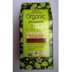 Produktbild zu Radico Colour Me Organic Premium Hair Colour Organic – Farbe: Champagnerblond
