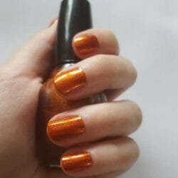 Produktbild zu ABSOLUTE NEW YORK Nail Lacquer – Farbe: NFB49 Rust