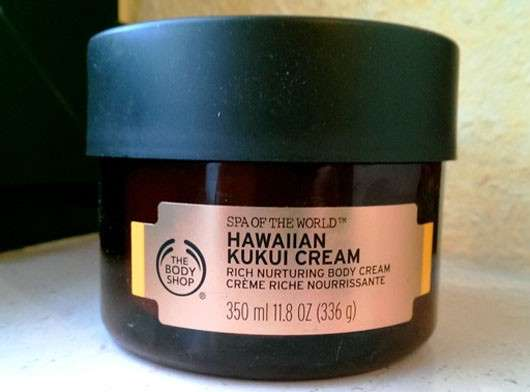 The Body Shop Hawaiian Kukui Cream