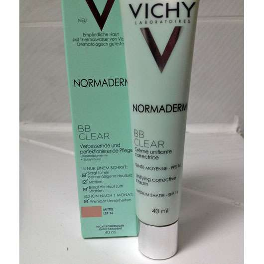 VICHY NORMADERM BB Clear, Farbe: Mittel
