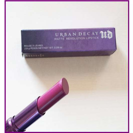 Urban Decay Matte Revolution Lipstick, Farbe: Matte After Dark