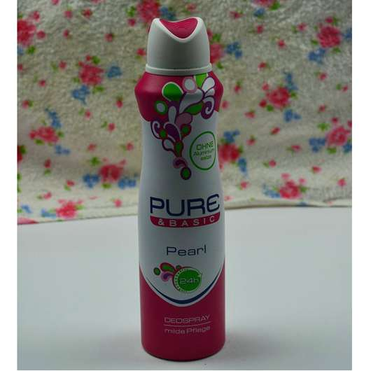 Pure & Basic Pearl Deospray