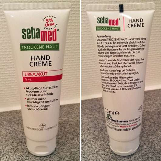 sebamed Trockene Haut Handcreme Urea Akut 5%