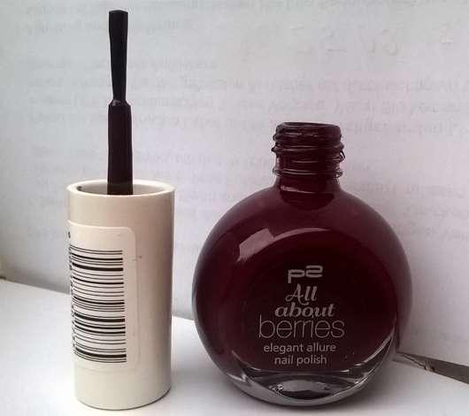 p2 all about berries elegant allure nail polish, Farbe: 050 grape passion (LE)