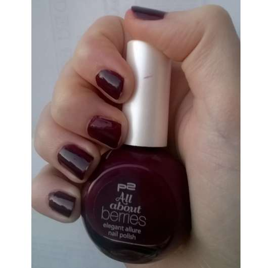 p2 all about berries elegant allure nail polish, Farbe: 050 grape passion (LE)