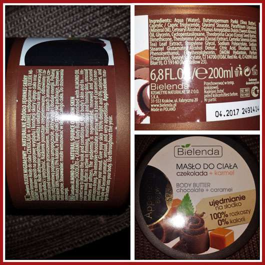 Bielenda Appetizing Body Chocolate & Caramel Body Butter