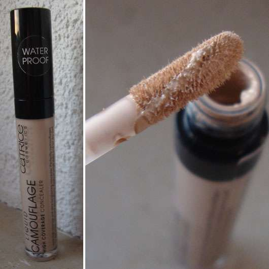 Catrice Liquid Camouflage – High Coverage Concealer, Farbe: 010 Porcellain