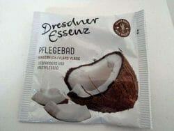 Produktbild zu Dresdner Essenz Pflegebad Kokosmilch/Ylang Ylang