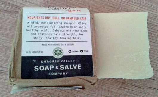 Chagrin Valley Soap & Salve Shampoo Bar Olive & Babassu