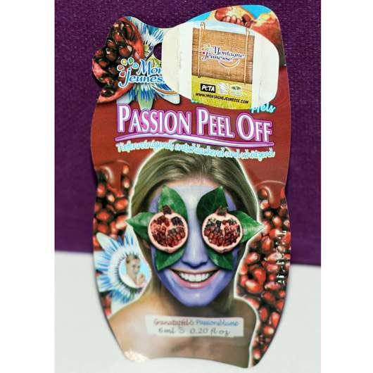 Montagne Jeunesse Passion Peel Off Maske