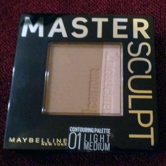 Maybelline Master Sculpt Kontur-Duo-Puder, Farbe: 01 Light Medium