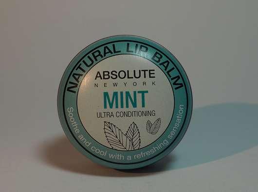 "ABSOLUTE NEW YORK Natural Lip Balm ""Mint"""