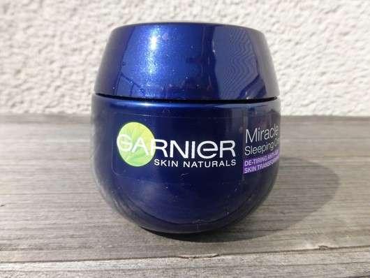 Garnier Skin Naturals Miracle Sleeping Cream Anti-Müde Haut Anti-Age Schlafcreme