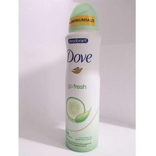 Dove go fresh Deodorant Spray Grüner Tee- & Gurkenduft (ohne Aluminiumsalze)