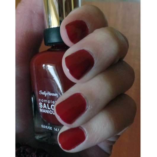 <strong>Sally Hansen</strong> Complete Salon Manicure Nagellack – Farbe: 610 Red Zin