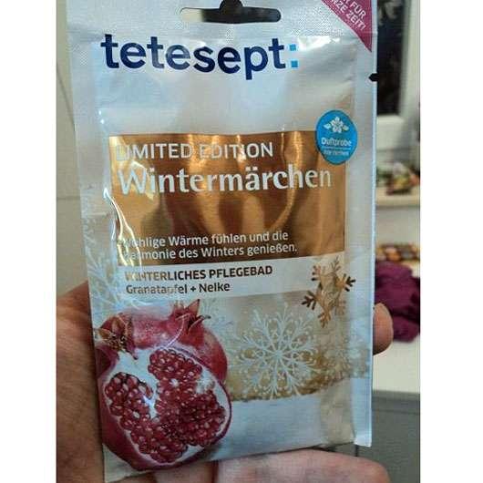 tetesept Wintermärchen Winterliches Pflegebad Granatapfel + Nelke (LE)