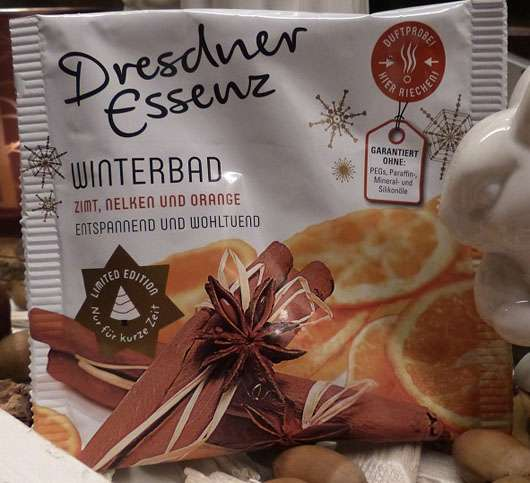 Dresdner Essenz Winterbad Zimt, Nelken und Orange (LE)