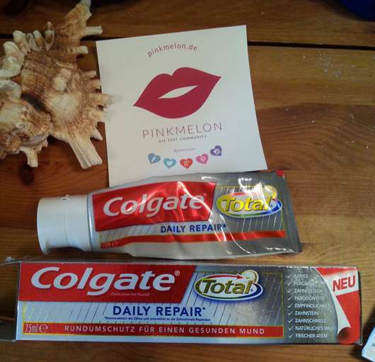 <strong>Colgate Total</strong> Daily Repair Zahncreme