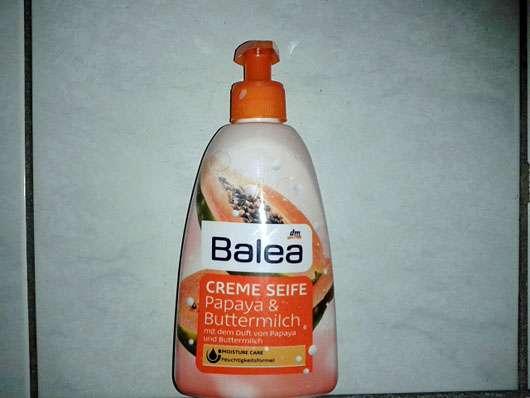 Balea Creme Seife Papaya & Buttermilch