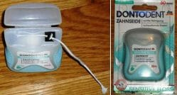 Produktbild zu DONTODENT Sensitive Floss Zahnseide Minze