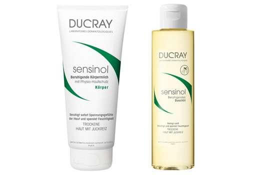 DUCRAY sensinol Beruhigendes Reinigungsöl und Beruhigende Körpermilch