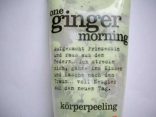 treaclemoon one ginger morning Körperpeeling