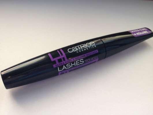 Catrice Lashes To Kill Ultra Curl & Volume Mascara, Farbe: 010 Black